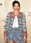 Isabel Marant H&M Beaded Embroidered Quilted Blazer Jacket UK Size 8 10 EU 34 36