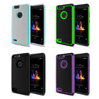 For ZTE Blade Z Max Z982/ Sequoia Dual Layer Hybrid Hard Rubber Case Cover