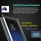 Galaxy S8 S8 Plus Full Glue Curved Tempered Glass Screen Protector for Samsung