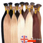 Pre Bonded I Tip Stick Tip Remy Real Human Hair Extensions Straight 1g/s 50S100S