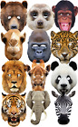wild animal masks - Adults Jungle Wild Animal Carnival Parade Fun Fancy Dress Costume Outfit Mask