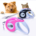 5M Pet Dog Cat Puppy Automatic Retractable Traction Rope Walking Lead Leash