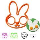Silicone/Stainless Steel Cartoon-Shaped Egg Fried Mold Kitchen Cooking Tool
