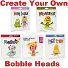 Build Your Own Bobble Heads-Monsters, Sea Life, Fairy Tales, Robots Get Creative