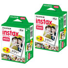 20-40-50-60 & 100 Prints Fujifilm instax instant film For Fuji mini 8 & 9 Camera