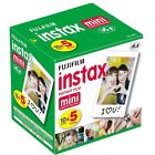 20-40-50-60 & 100 Prints Fujifilm instax instant film For Fuji mini 8 & 9 Camera <br/> Free Delivery! - For All Fujifilm Instant Mini Cameras