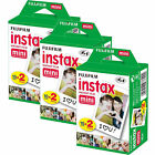 20-40-50-60 100 Prints Fujifilm instax instant film For Fuji mini 8 9 Camera