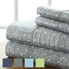 Premium - Ultra Soft - 4 Piece Polka Dot Printed Sheet Set - Hotel Collection image