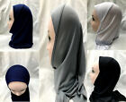 MUSLIM KIDS GIRLS HIJAB ISLAMIC HEADSCARF KIDS SCHOOL CHILDREN HIJAB ONE PIECE