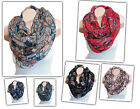 OWL BRANCHES TREE Loop Design Scarf Eagle circle new colors choice