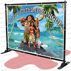 Moana Party Birthday Banner Personalized Backdrop Decoration kid