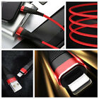 3-1 USB Charger Charging Data Sync Cable for iPhone/Android/Type-C Cable AU 97k