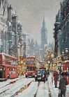 LONDON IN WINTER # 2 - COUNTED CROSS STITCH CHART