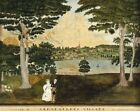 """FANNY CONEY """"View of Skeneatless Village"""" CANVAS OR PAPER 3 sizes, BRAND NEW"""
