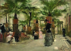 After TISSOT Sunday at the Palm House WOMAN victorian child indoors CANVAS new