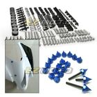 Complete CNC Spike Stainless Steel Fairing Bolt Kit Body Screws Nuts for Suzuki