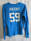Carolina Panthers Women's Kuechly 59 Graphic Long Sleeve Shirt NFL Medium  A14 on eBay