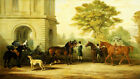 EDWARD LLOYD Horses & dogs CANVAS OR PAPER new choose SIZE, from 55cm up, NEW