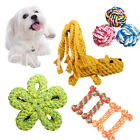 Pet Puppy Dog Supplies Cotton Rope Toys Chew Knot Play Toy Weave Teeth Cleaning
