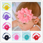Good Baby Girls Lotus Flower Bow Hairband Soft Elastic Headband Hair Accessories