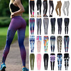 Women's Sports Gym Yoga Workout Jogging Running Fitness Leggings Athletic Pants