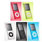 "Newest 4TH 1.8"" LCD Screen MP4 Player Video Radio FM Music Player Free shipping"