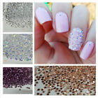 1440pcs/Bag Crystal Pixie 1.2mm Micro Nail Rhinestones Zircon