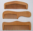 Delightful Hand Carved Wooden  Combs * ANTI STATIC * 3 Styles