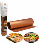 Copper Infused Bake-Grill-Cooking Mats Non-Stick Dishwasher Reusable Safe Pads