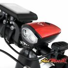 Addmotor LED Bike Headlight USB Rechargeable Bicycle Cycling Front Lamp Horn Kit