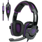 SADES SA930 Gaming Music Headset Headphone for PS4 New Xbox One Laptop PC Tablet