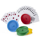 SINGLE PLAYING CARD HOLDER - CHOOSE COLOUR FROM RED BLUE GREEN YELLOW