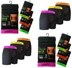 6 Mens Designer Classic Boxer Shorts Fitted Cotton Blend Underwear Large