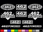 10 DECAL SET 462 CI V8 POWERED ENGINE STICKERS EMBLEMS BORED 455 VINYL DECALS