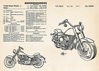 1993 Harley Davidson Super Glide Motorcycle Art Posters Drawings Patent Print $13.0 USD