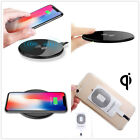 Qi Wireless Charger Slim Charge Pad For iPhone Andriod + Charging Receiver LS3