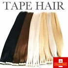 skin weft hair extensions - US STOCK DOUBLE DRAWN Remy Human Hair Extensions Seamless Tape in Skin Weft