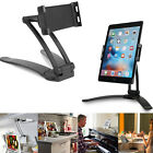 Kitchen Wall/Desktop Recipe Mount Stand Holder for 3-10inch Tablet iPad 2/3/4