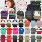 Japan Anello Quality Backpack Rucksack Unisex Canvas Quality School Bag Campus