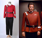 Star Trek II-VI Wrath of Khan WOK Starfleet Cosplay Captain Kirk Uniform Costume