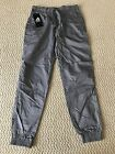 NWT Men's Ablanche Solid Gray Classic Elastic Jogger Pants ALL SIZES S-XL