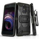 for LG REBEL 4/3 / LG PHOENIX 4/3, [Tank Series] Phone Case Cover & Holster