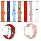 Silicone Bracelet Sport Wrist Watch Band Strap for  Watch Series 3 2 1 image