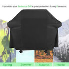 "BBQ Grill Cover, (60"" Black) Waterproof Weather Resistant 