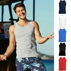 Fruit of the loom Herren Trägershirt Athletic Vest Tank Top T-Shirt S - 5XL