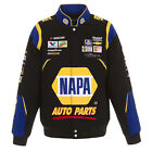 2018 Chase Elliott JH Design NAPA Full-Snap Twill Uniform Jacket Black