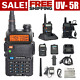 Two Way Radio Scanner Transceiver Handheld Police Fire Portable F-Antenna HAM US