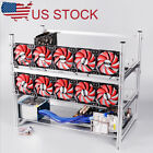 6,8,12 GPU Open Air Frame Mining Miner Case For Crypto Coin Zcash (ZEC) ETH BTC