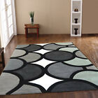 ACRYLIC HARLEQUIN BEST QUALITY RUGS CLEARANCE SALE RUGS BUBBLE GREY RUG SALE