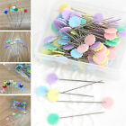 Внешний вид - 50X Patchwork Pins Flower Button Head Pins DIY Quilting Tool Sewing Accessories
